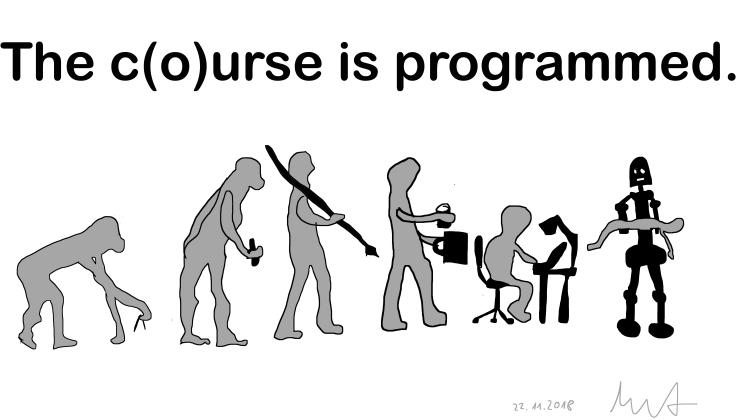 The course is programmed